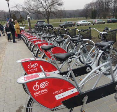 (Polski) KajTeroz – Chorzowski Rower Miejski obchodzi pierwsze urodziny
